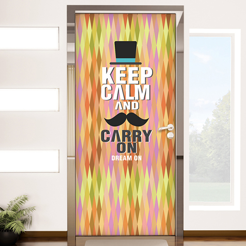 cp090-keep calm and carry on-북유럽마름모패턴
