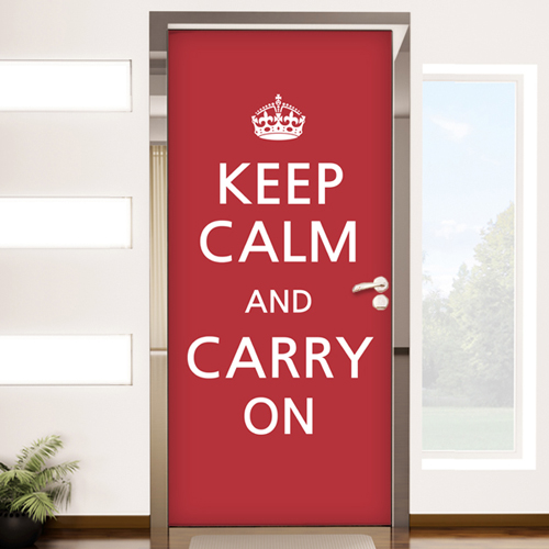 pm078-Keep calm and carry on단색
